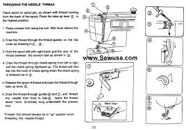 How To Thread A Euro Pro X Sewing Machine