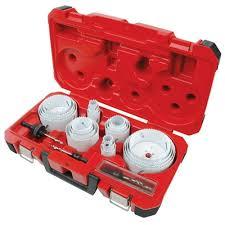 Details About Milwaukee 49 22 4185 28 Piece All Purpose Professional Hole Dozer Hole Saw Kit