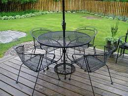 image of black wrought iron patio chairs black wrought iron patio