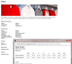 Women Shirt Size Chart Size Chart Guide By Different Apparel Brands For Men And