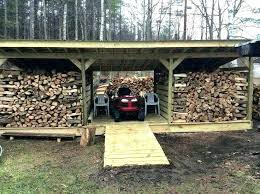 9 firewood storage ideas bunnings