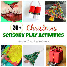 Christmas Sensory Play Activities for Toddlers and Preschoolers - Teaching 2 3 Year Olds 21 Fun