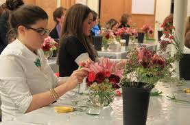 Cass Floral Design School Five Steps For How To Arrange Flowers At Home