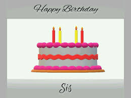 Ellie Birthday Cake Gif Free Royalty Free Stock Animations