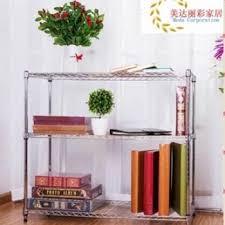 stainless steel color landing kitchen shelves storage rack metal shelf storage rack microwave oven shelf