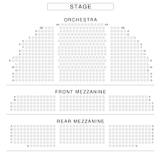 Ethel Barrymore Seating Chart Barrymore Theatre Seating Chart View From Seat New York