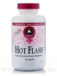 <b>Hot Flash</b> - <b>180</b> Tablets