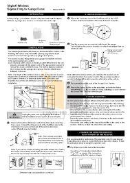 genie silentmax 1000 wiring diagram genie intellicode
