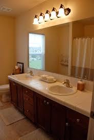 Bathroom  Brown Bathroom Cabin Color Schemes With Wood Panelized Country Bathroom Color Schemes