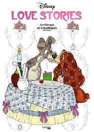 Les Coloriages Love Stories Disney Mel