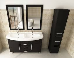 bathroom double sink cabinets. 48-inch-double-sink-vanity-top-sink-cabinet- bathroom double sink cabinets