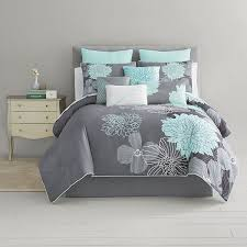 Home Expressions™ Alice Modern Floral 10-pc. Comforter Set ...