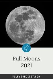 Sleek 4 stage blank lunar calendar. Full Moon Calendar 2021 12 Full Moons Fullmoonology