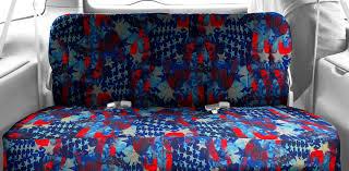 patriotic us flag seat covers