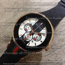 gucci 1142. jam tangan gucci quartz chronograph, style 1142 rosegold r