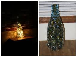 Wine Bottle Lamp Diy Diy Homemade Twinkle Nightlight