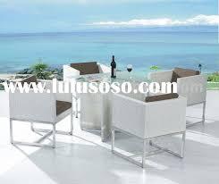 white wicker furniture for cool patio furniture white