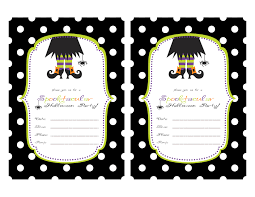 Free Halloween Birthday Invitation Templates 019 Template Ideas Free Halloween Party Invitation Printable
