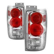 Spyder <b>Auto</b> Ford Expedition 97-02 Euro <b>Style Tail Lights</b> - Chrome ...