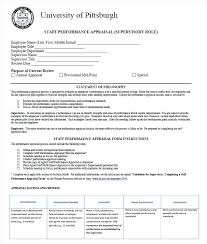 Performance Review Forms Staff Review Form Template Lovely Annual Employee Performance Review