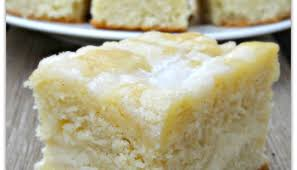 Blueberry lemon cream cheese coffee cake