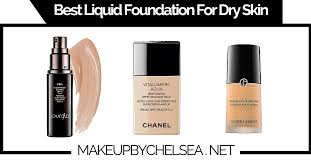 best liquid foundation for dry skin
