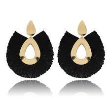 2019 <b>2019 NEW Tassel Earrings</b> For Women Big Fringe Earings ...