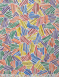 jasper johns painting below book review the shock of the new by robert hughes 1938 2016 modern art war society