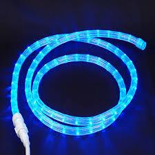 picture of blue custom 12 volt led rope lights 1 2 2 wire