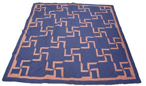 EARLY 20TH C. SWASTIKA GOOD LUCK QUILT & Image 1 : EARLY 20TH C. SWASTIKA GOOD LUCK QUILT ... Adamdwight.com