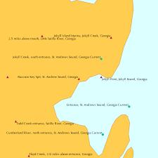 Tide Chart St Simons Island Ga 2016 Raccoon Key Spit St Andrew Sound Georgia Tide Chart