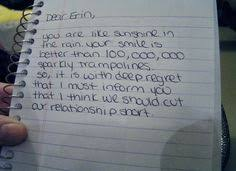 15 Best Best Break Up Letters Images On Pinterest Break Up Letters