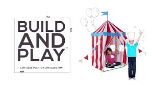 how to build and play circus tent
