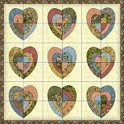 Michele Bilyeu Creates *With Heart and Hands*: Free Heart Quilt ... & Big Hearted Quilt: free pattern at Riley Blake Designs (PDF download) Adamdwight.com