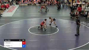 65 kg Semifinal - Vincent Zerban, Xtreme Training vs Derek Fields, Arsenal  Wrestling
