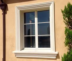 Stucco Trim Designs Foam Molding Exterior Window Molding House Paint Exterior