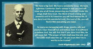 Smith Wigglesworth Quotes Fascinating DO YOU TRUST HIM Smith Wigglesworth Quote DO YOU TRUST Flickr