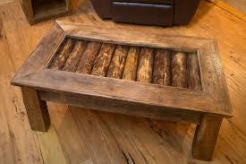 reclaimed wood coffee table shadowbox port md custom salvaged tables