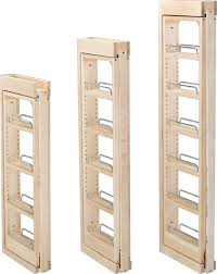 Rev A Shelf 3 Wall Filler Pull Out With Adjustable Shelves 39