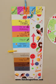 Our Behavior Chart Which Really Works Fun Cheap Or Free
