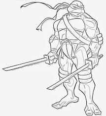 Small Picture Ninja Turtle Coloring Pages Coloring Pages