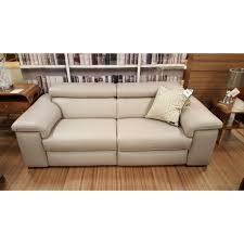 natuzzi editions b817 large leather sofa