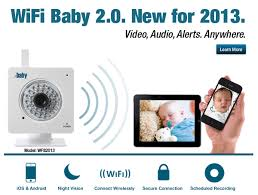 WiFi Baby 2.0. New for 2013. iPhone, iPad, Android Baby Monitor ...