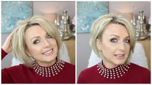 How To Style a Short, Stacked ( Inverted )Bob (2017) - YouTube