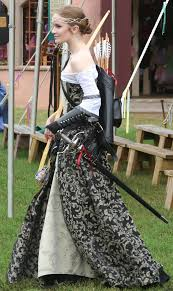 artemis girls costume. pretty girl with bow and rapier..suits well for this ongoing project \ artemis girls costume o