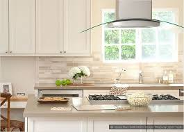 beige backsplash white cabinets. Backsplash Ideas For White Cabinets Cream Countertop Travertine Subway Tile Kitchens Pinterest Kitchen With Beige