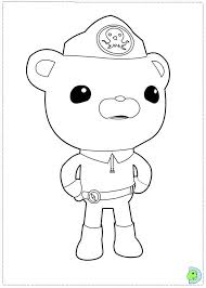 Small Picture Disney Coloring Pages Octonauts Coloring Pages