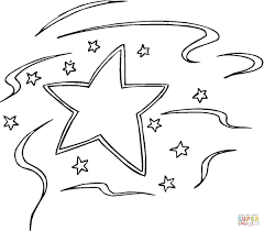 Small Picture Decoration Star coloring page Free Printable Coloring Pages