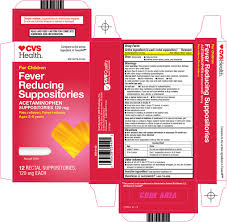 Cvs Pharmacy Inc Fever Reducing Suppositories Drug Facts