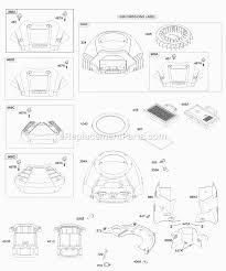 briggs and stratton 445777 0231 e1 parts list and diagram click to close